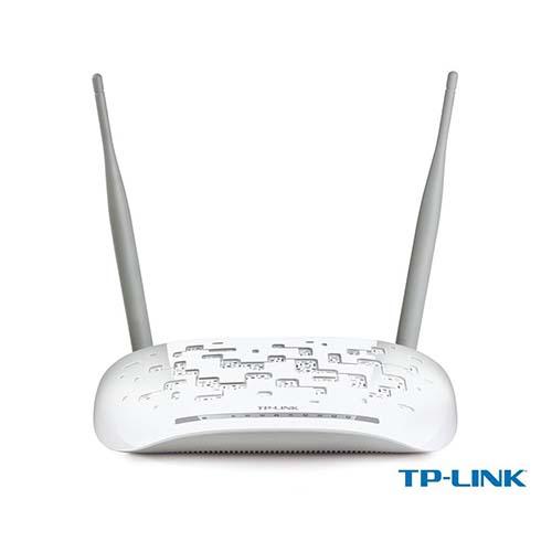 TP-LINK TD-W9970 300Mbps 4 Port Kablosuz+Ethernet+Usb Vpn VDSL2 / ADSL2/2+ N N Modem Router