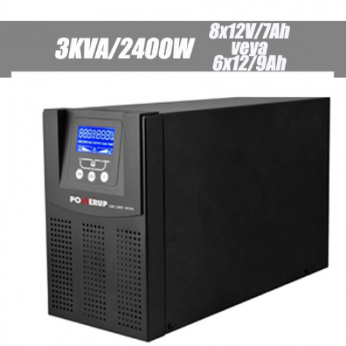 POWERUP PRO SERİSİ 3 KVA On Line LCD UPS