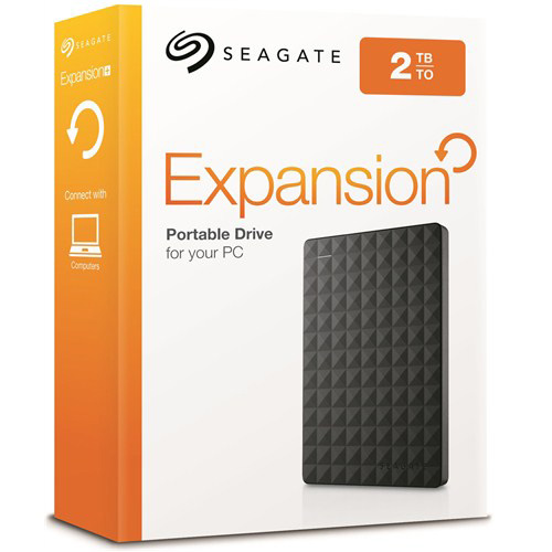 SEAGATE 2.5 EXPANSION 2TB USB 3.0 EXTERNAL HDD SİYAH STEA2000400