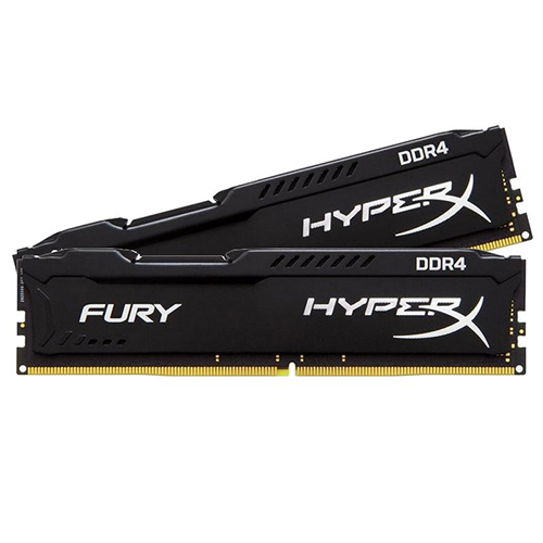 KINGSTON Hyperx Fury 8GB (2X4GB) 2400Mhz DDR4 CL15 Pc Ram HX424C15FBK2/8