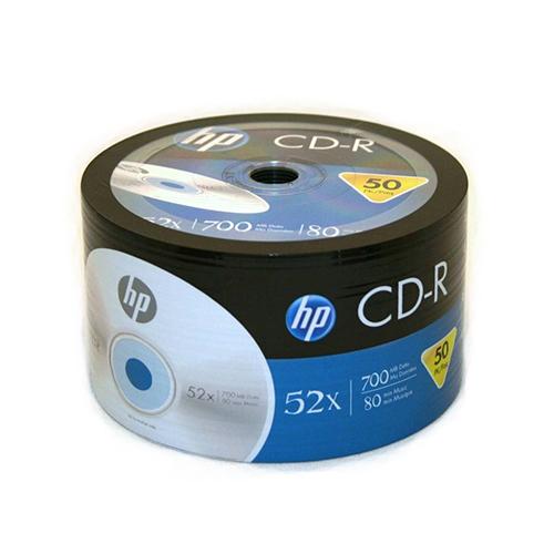 HP 52X 700 MB 80 DK 50 bulk CD-R Boş Cd