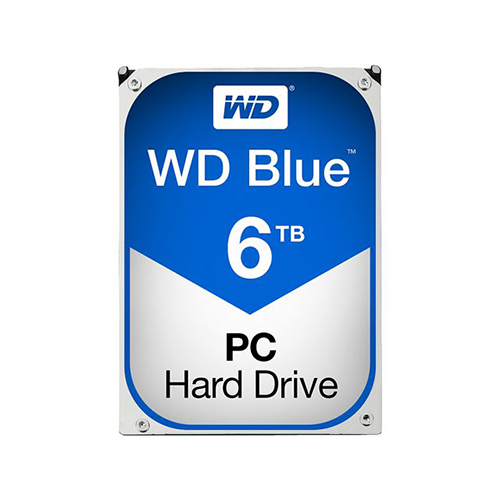 WD 3.5 Blue 6TB 64MB SATA3 PC HDD WD60EZRZ