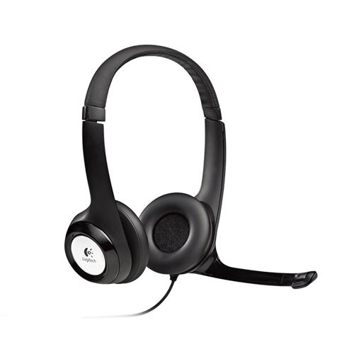 Logitech 981-000406 H390 Usb Mikrofonlu Headset Gri