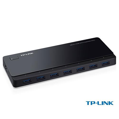 TP-LINK UH720 7 Port Usb 3.0 Çoklayıcı Hub (Siyah)