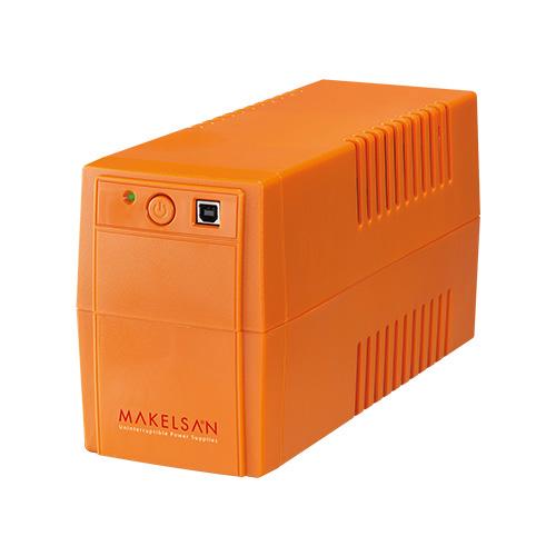MAKELSAN LION PLUS 650 VA Line Interactive 5-10 Dk. 1x12V 7AH UPS