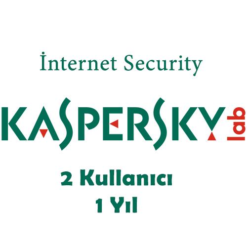 KASPERSKY Internet Security MD 2 Kullanıcı 1 Yıl KIS2