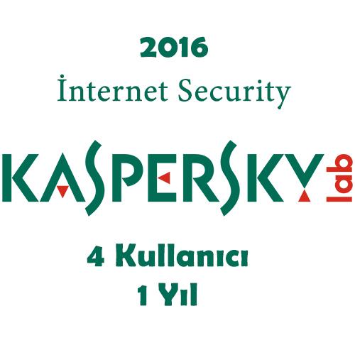 KASPERSKY Internet Security MD 4 Kullanıcı 1 Yıl KIS4