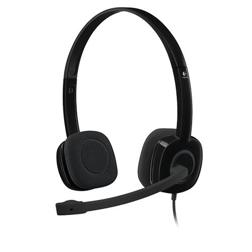 Logitech 981-000589 H151 Stereo Mikrofonlu Headset Gri
