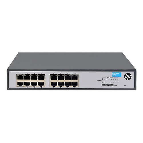 HP 16 Port ProCurve 1420-16G JH016A 10/100/1000 Gigabit Rack Mountable Switch