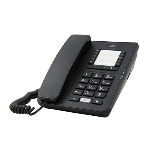 KAREL TM-142 Masaüstü Telefon Siyah