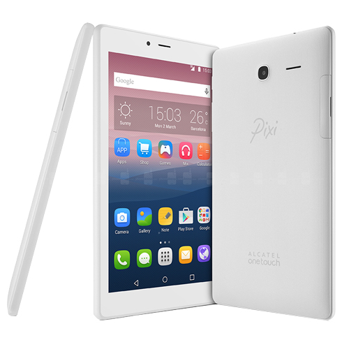ALCATEL PIXI 4 Quad Core 1GB/ 8GB 7 Wi-Fi 2Mp Distribitör Beyaz