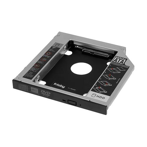 FRISBY 2.5 FA-7830NF (NTB DVD YUVA MONTE) SATA/SSD 12.7mm Harddisk Kutusu