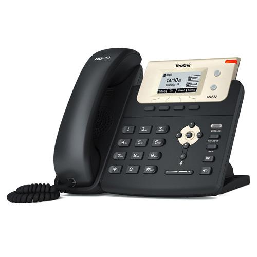 Yealink SIP-T21P E2 IP PHONE ,132X64-PIXEL LCD, 2XPORT (POE), 2 SIP, IP TELEFON