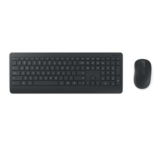 Microsoft Desktop 900 Q Kablosuz Siyah Multimedya Klavye/Mouse Set PT3-00016