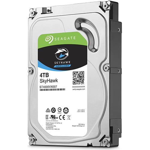 SEAGATE 3.5 SKYHAWK 4TB 5900RPM 64MB SATA3 Güvenlik HDD ST4000VX007 (7/24)