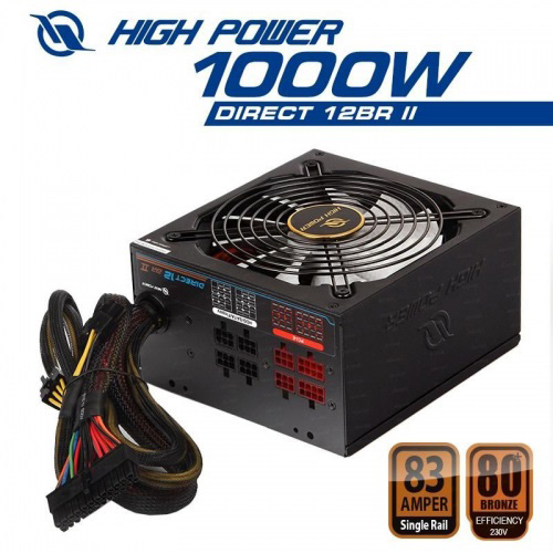 HIGH POWER HPL-1000BR-F14C 1000W 14 Cm Fan