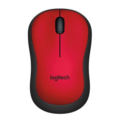 Logitech M220 SLIENT RED 910-004880 Kablosuz+USB Nano Alıcılı Mouse