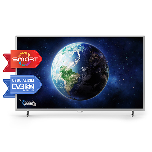 AXEN 49 125 Ekran Full HD Smart LED TV Gri Uydu