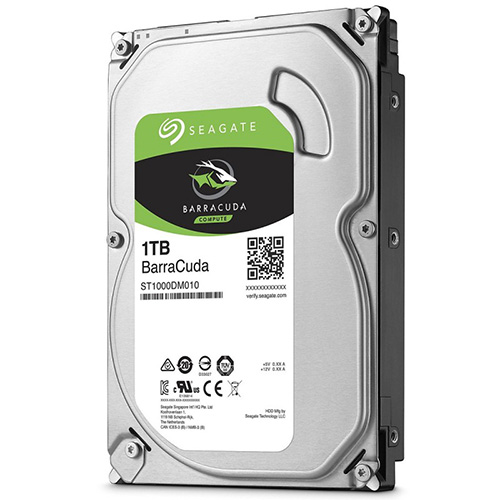 SEAGATE 3.5 1TB 7200 RPM 64MB SATA3 PC HDD ST1000DM010