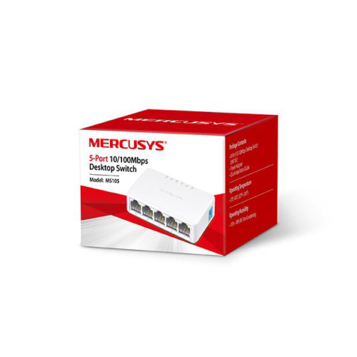 MERCUSYS 5 Port MS105 10/100 Mini Switch