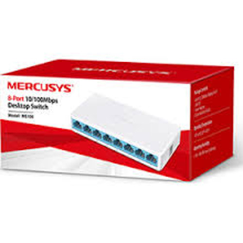 MERCUSYS 8 Port MS108 10/100 Mini Switch
