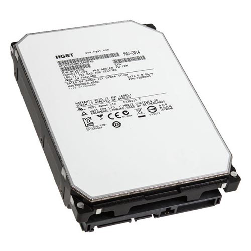 HITACHI 3.5 UltraStar 6TB 7200 RPM SATA PC HDD HUS726060ALA640