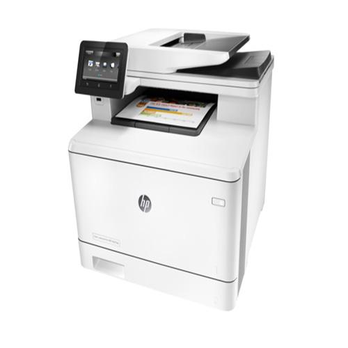 HP CF378A Laserjet Pro MFP M477FDN Renkli Laser Yazıcı A4 Fotokopi Tarayıcı Fax Dublex 256MB 27 ppm S/B 27 ppm Renkli US