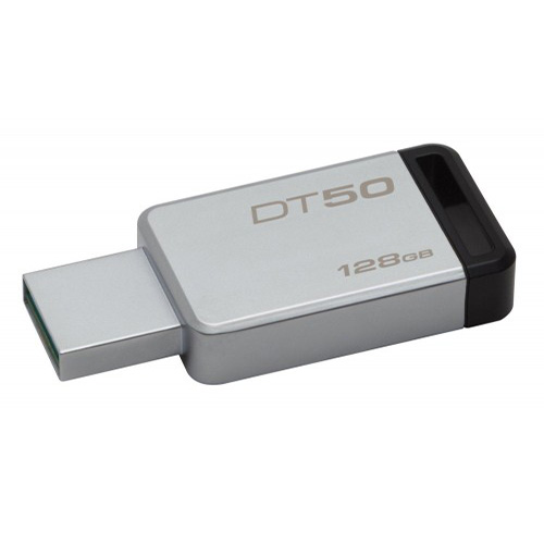 KINGSTON 128GB Metal Kasa USB 3.1 Flash Disk DT50/128GB