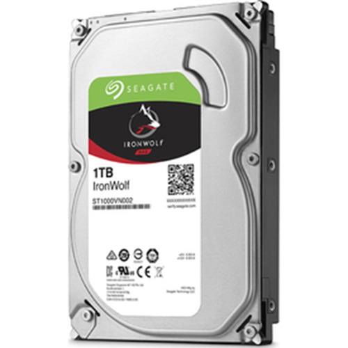 SEAGATE 3.5 IRONWOLF 1TB 5900RPM 64MB SATA3 NAS HDD ST1000VN002 (7/24)
