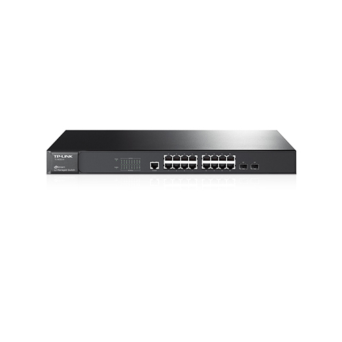 TP-LINK 16 Port JetStream TL-SG3216 10/100/1000 Yönetilebilir 2x SFP L2 Gigabit Switch