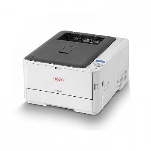 OKI Laserjet C332DN Renkli Laser Yazıcı A4 Dublex 1 GB Ram 30 ppm S/B 26 ppm Renkli USB 2.0, Network