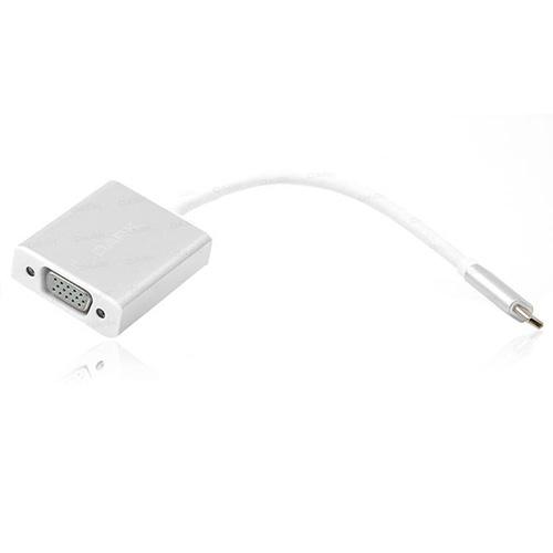 Dark DK-AC-U31XVGA USB Type Cden VGA Full HD Dönüştürücü Adaptör Alüminyum Kasa