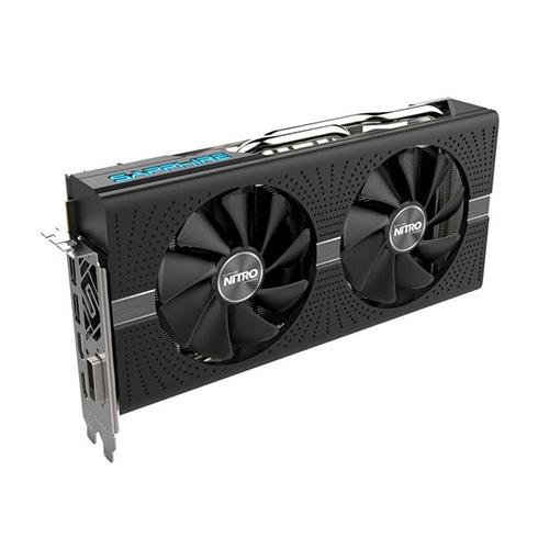 SAPPHIRE AMD 8GB RX 580 NITRO+ OC GDDR5 256 Bit 11265-01-20G 2xHDMI DVI 2xDP