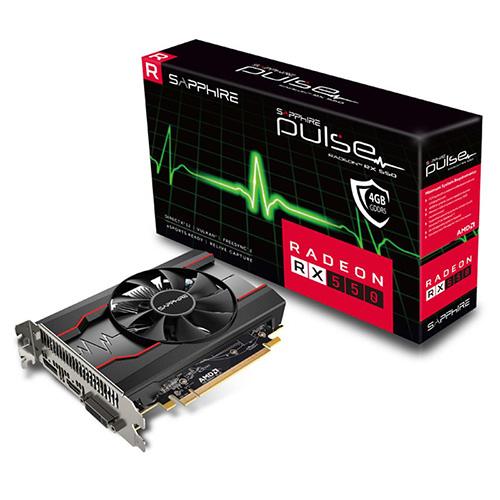 SAPPHIRE AMD 4GB RX 550 PULSE GDDR5 128 Bit 11268-01-20G HDMI