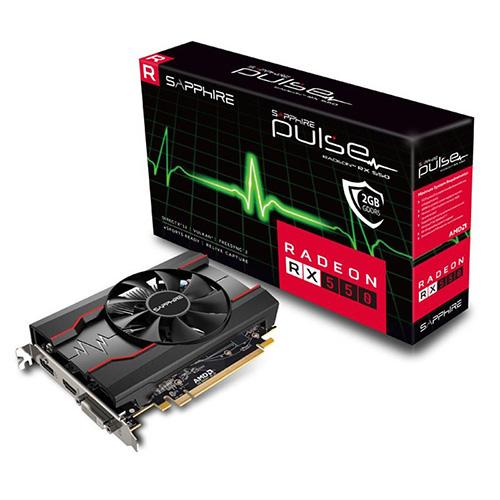 SAPPHIRE AMD 2GB RX 550 PULSE GDDR5 128 Bit 11268-03-20G HDMI