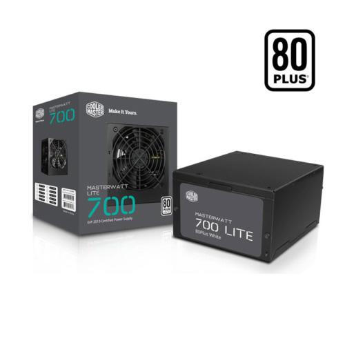 COOLER MASTER MasterWatt MPE-7001-ACABW-EU 700W 80+ 12 Cm Fan Power Supply