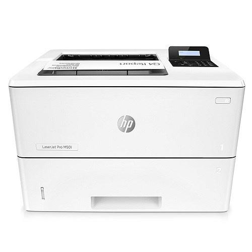 HP J8H61A LaserJet Pro M501dn Mono Laser Yazıcı A4 Dublex 256MB Ram 43 ppm S/B USB 2.0, Network