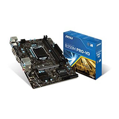 MSI INTEL B250M PRO-VD B250 DDR4 2400 VGA GLAN 1151P-7 M.2 SATA USB3.1
