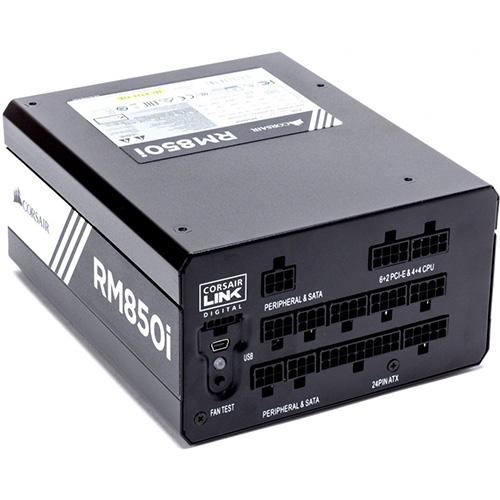 CORSAIR Enthusiast RM850i 850W 80+ GOLD 13.5MM PSU CP-9020083-EU Tam Modüler PSU
