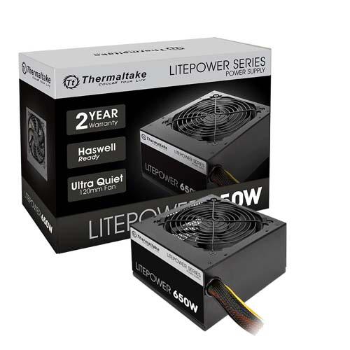 THERMALTAKE LitePower Black Edition 650W 12 Cm Fan LTP-0650NPCNEU-2 (Aktif Pfc)