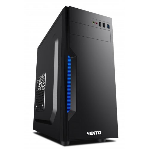 ASUS FSP / VENTO TA-K61 300W PEAK SIYAH 1 x USB 2.0, 1 x USB 3.0, MIDTOWER KURUMSAL KASA