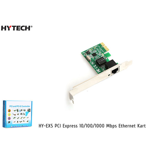 Hytech HY-EX5 10/100/1000 Pci Express Gigabit Ethernet Kartı