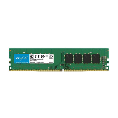 CRUCIAL 16GB 2400Mhz DDR4 CL17 Pc Ram CT16G4DFD824A