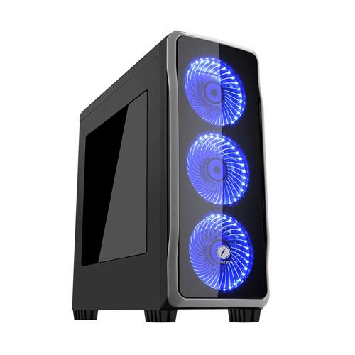 FRISBY FC-9235G 650W 80+ Siyah 4 X Halo Led Fan Atx Gaming Kasa