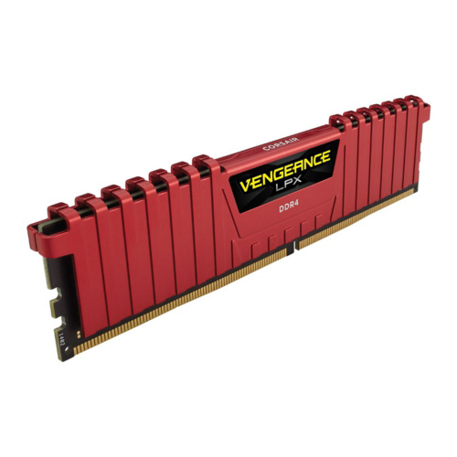 CORSAIR Vengeance Lpx Kırmızı 8GB 2400Mhz DDR4 Soğutuculu CL16 Pc Ram CMK8GX4M1A2400C16R