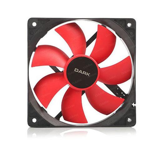 DARK DKCCF123R 120MM Kırmızı Kanatlı Kasa Fanı