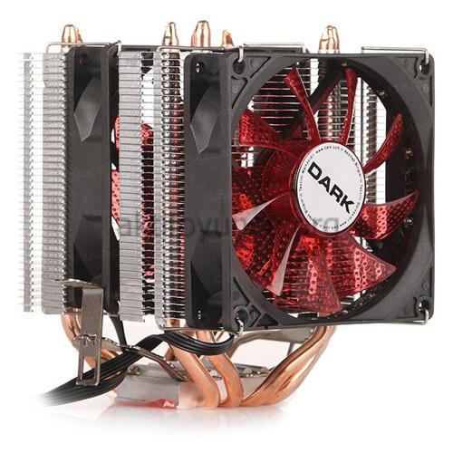 Dark Freezer X94RD DKCCX94RD İntel + AMD Ryzen Alüminyum 92MM Kırmızı Ledli İşlemci Fanı