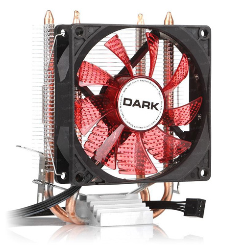 Dark Freezer X92RD DKCCX92RD İntel + AMD Ryzen Alüminyum 92MM Kırmızı Ledli İşlemci Fanı