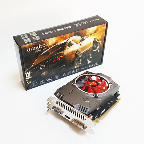 Quadro AMD 2GB R7 240 2GD5 DDR5 128 Bit HDMI DVI 16X (PCIe 3.0)