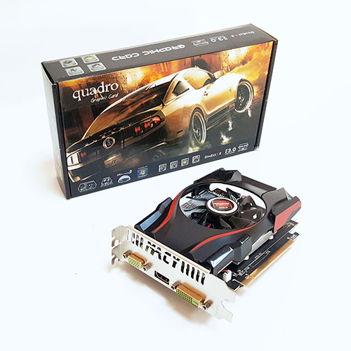 Quadro AMD 4GB R7 240 4GD5 DDR5 128 Bit HDMI DVI 16X (PCIe 3.0)